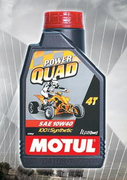 Motul Power QUAD 4t 100% sytnthetic sae 10w40 1L