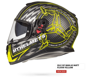 MT Thunder 3 SV Isle of Man fluo żółty