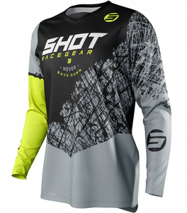 Bluza cross SHOT RACING DEVO Storm 2021 FLUO