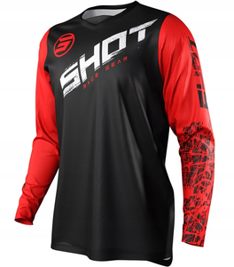 Bluza cross SHOT RACING DEVO SLAM RED