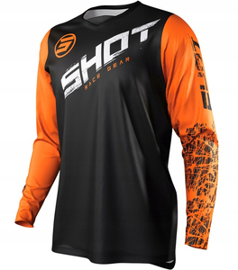 Bluza cross SHOT RACING DEVO SLAM ORANGE